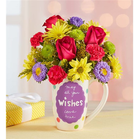 1 800 Flowers 174 Mugable 174 Best Wishes 1 800 Flowers Dallas