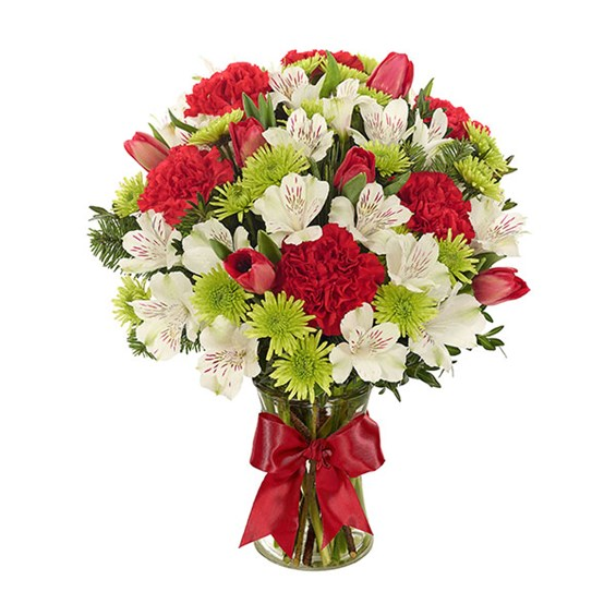 Holiday Joy Flower Bouquet (BF441-11KL)
